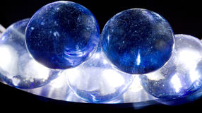 Lighten stone. Play of lighten blue stone royalty free stock image