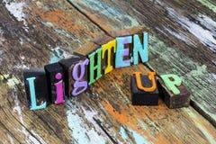 Free Lighten Up Relax Stress Management Accept Life Keep Calm Stock Photo - 167984820