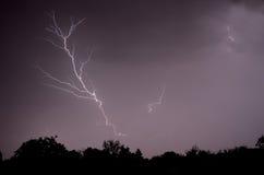 Lightening θύελλα Στοκ φωτογραφία με δικαίωμα ελεύθερης χρήσης
