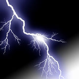 Lightening stock illustration