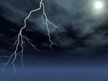 Lightening Royalty Free Stock Photography