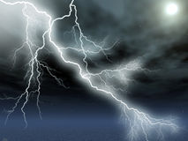 Lightening Royalty Free Stock Images