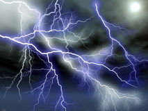 Lightening Stock Photo