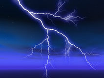 Lightening Royalty Free Stock Image