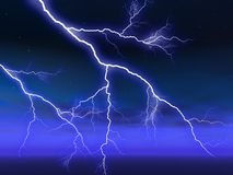 Lightening Royalty Free Stock Photos