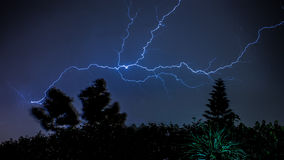 Lightening Royalty Free Stock Photo