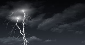 Lightening bolt Royalty Free Stock Photography