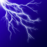 Lightening effect Stock Photo