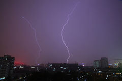 Lightening Storm Royalty Free Stock Photo