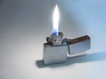 Lighter. Flaming lighter stock photography