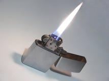 Lighter. Flaming lighter Stock Images