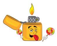 Lighter cartoon Stock Photos