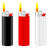 Lighter fire Royalty Free Stock Images