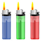 Lighter fire Royalty Free Stock Photos