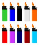 Lighter with fire Royalty Free Stock Photos