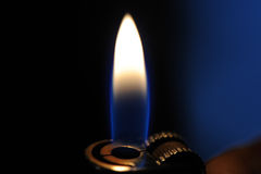 Lighter flame Royalty Free Stock Images
