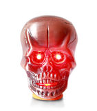 Lighter in the form metallic skull Stock Image