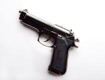 Lighter-gun on white background isolated Stock Photo