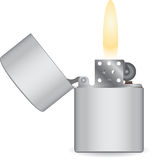 Lighter icon Royalty Free Stock Images