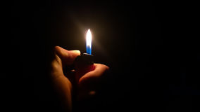 Free Lighter In A Hand Royalty Free Stock Images - 63546769
