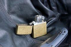 Lighter petrol Stock Images