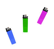 Lighter pink green blue colors Stock Photo