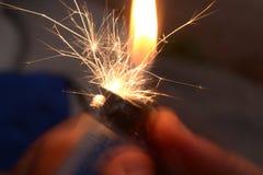 Lighter Scintilla Royalty Free Stock Photos