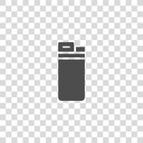Lighter vector icon Royalty Free Stock Photography