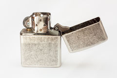 Lighter on white background. Stock Photos