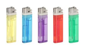 Lighters Royalty Free Stock Photography