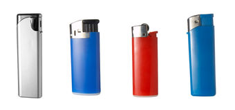 Lighters group royalty free stock images