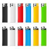 Lighters set Stock Image