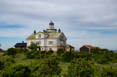 Lighthause on Stora Karlso Royalty Free Stock Photography