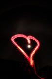 Lightheart mit nightsky Lizenzfreies Stockfoto