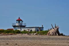 Lighthhouse. Point no Point Lighthouse, Kitsap Penninsula, Washington Royalty Free Stock Images