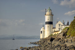 Lighthose. Lighthouse taken in Gourock Scotland Europe Stock Photos