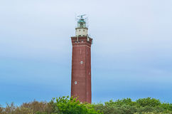 Lighthouse Vuurtoren Westhoofd Foto de Stock Royalty Free