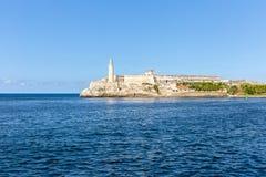 Lighthouse卡斯蒂略del Morro,哈瓦那 免版税库存图片