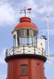 Lighthouse 1. Old lighthouse, Rotterdam, Holland Royalty Free Stock Photography