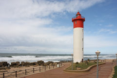 Lighthouse. On the coast of South Africa stock images