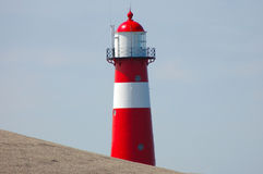 Lighthouse. In Netherlands Royalty Free Stock Image