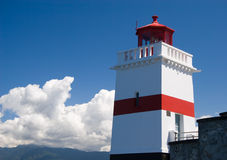 Lighthouse. Located in Stanley Park, Vancouver stock image