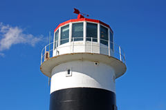 Lighthouse. In the Cape of Good Hope, South Africa royalty free stock photography