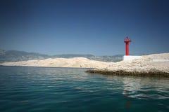 Lighthouse. Old Lighthouse (Croatia Islan Pag Stock Photography