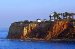 Lighthouse. Point vicente lighthouse palos verdes peninsula california Stock Image
