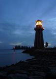 Lighthouse. A lighthouse at dusk. Picture taken in Langkawi island, Malaysia Stock Photography