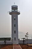 Lighthouse. A lighthouse in Yeosu, south korea where the 2012 world expo will be held Stock Images