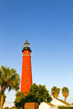 Lighthouse. Ponce de Leon Inlet Lighthouse under afternoon sun stock images