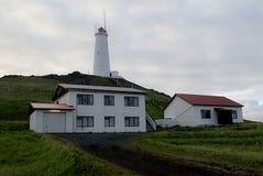 Lighthouse. Lightouse near Keflavik in Iceland Royalty Free Stock Images