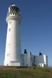 The Lighthouse. Flamborough, East Yorkshire, UK Stock Photo